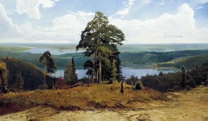 Русские пейзажи Александра Афонина, которого называют современным Шишкиным.