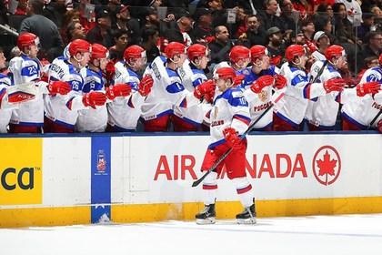 Молодежная сборная России вышла в полуфинал ЧМ по хоккею