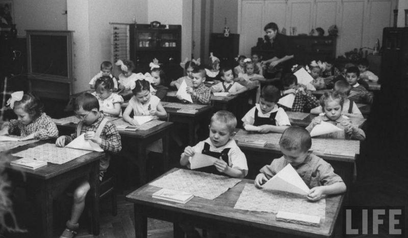 Советский детский сад 1960 г…