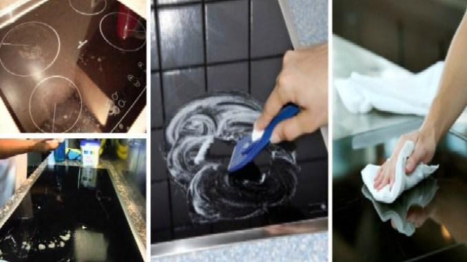 8 эффективных способов очистить грязную стеклокерамическую плиту
