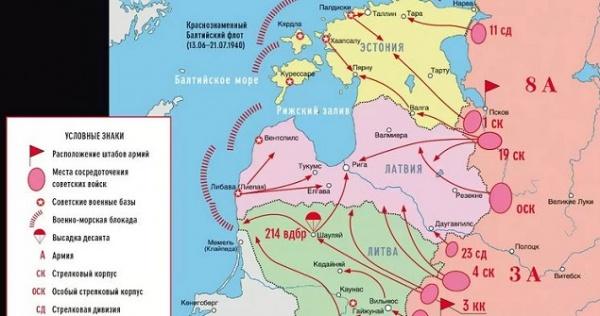Американский журнал: Россия в2018 году попытается захватить Прибалтику