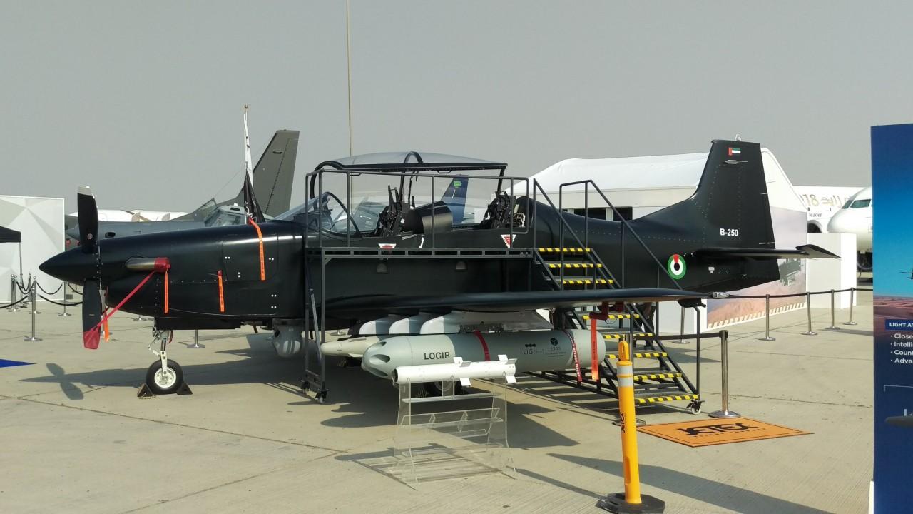 Бразильско-эмиратский турбовинтовой легкий боевой самолет В-250