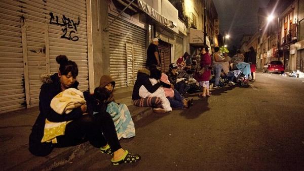 Мексику продолжает «трясти»— новые толчки наюге страны