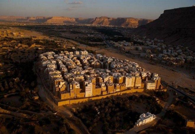 Город Шибам в Йемене