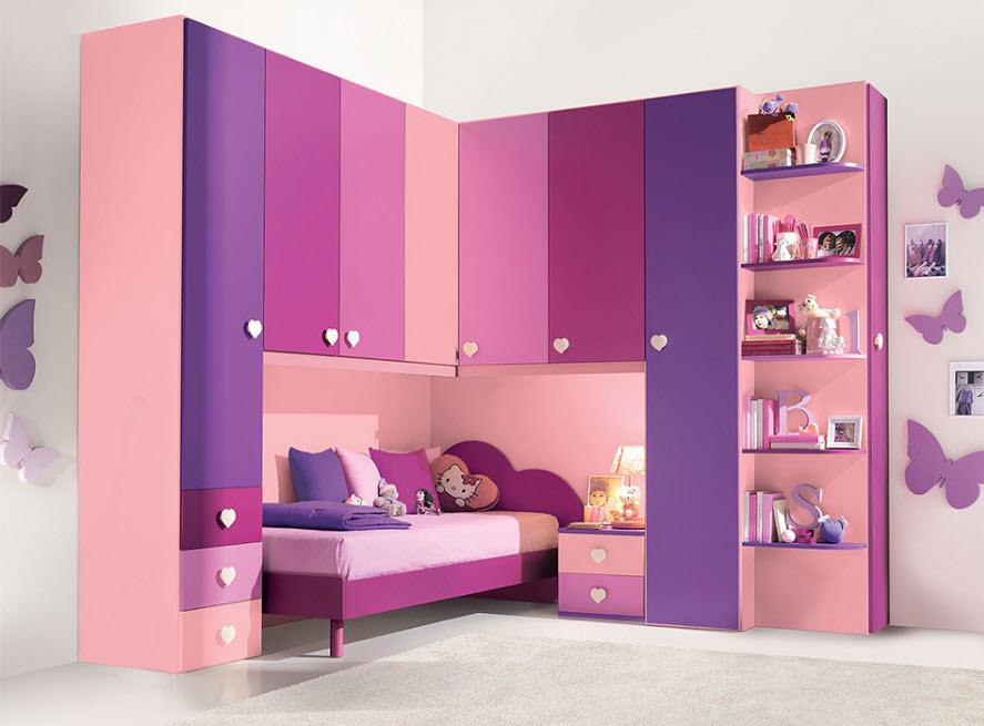 От розового до фиолетового