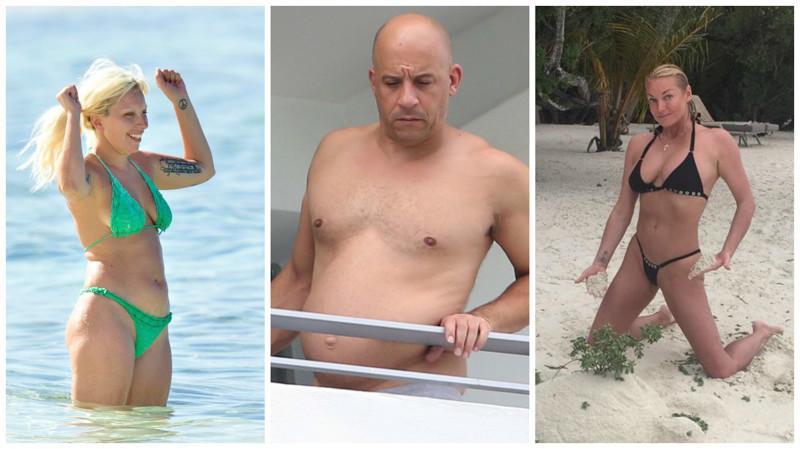 Не беда, если вы не похудели к лету! Посмотрите на эти жуткие фигуры знаменитостей на пляже