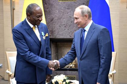 Россия простила странам Африки долг в 20 миллиардов долларов