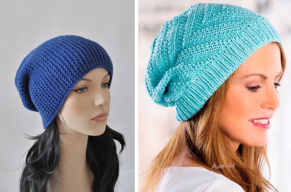 Вязание шапки на женщину 50