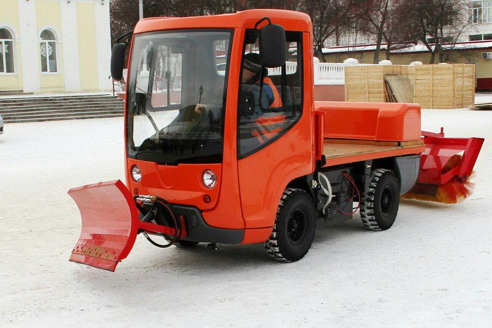 Первый отечественный электротранспорт для ЖКХ начнут выпускать в Удмуртии