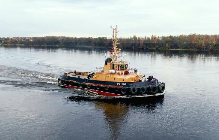 «Пелла» передала ВМФ России буксир РБ-369