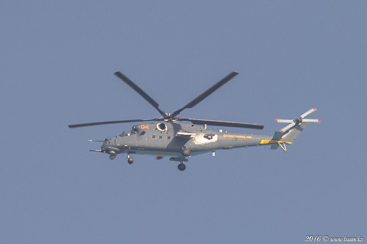 Казахстан получил все четыре заказанных вертолета Ми-35М