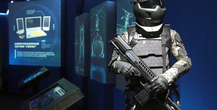 Бойцу в «Ратнике-3» будет помогать личный микроробот