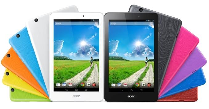 IFA 2014: Acer представила три новых планшетных компьютера