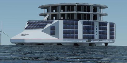 Во Франции построят плавучую солнечную электростанцию