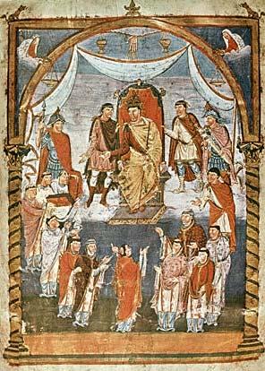 Александр Сидоров — Церковь в эпоху Каролингов