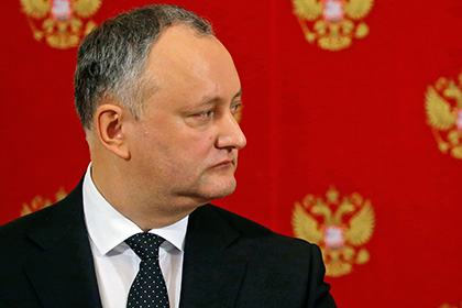 Додон рассказал о просьбах к Путину