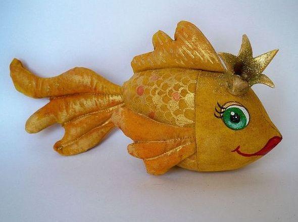 Золотая рыбка своими руками пошаговое