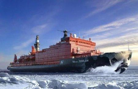 Самый большой атомный ледоко…