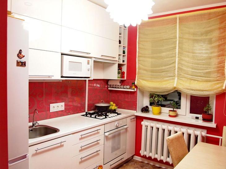 Кухня -  используем имеющееся пространство по максимуму!