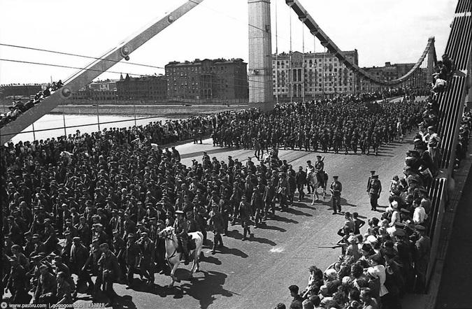Марш пленных 17 июля 1944 года