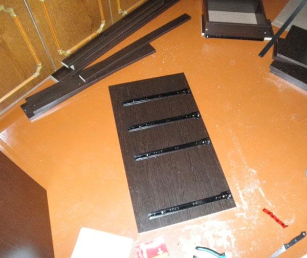 Стол для швейного оборудования. Ольга Рощина
