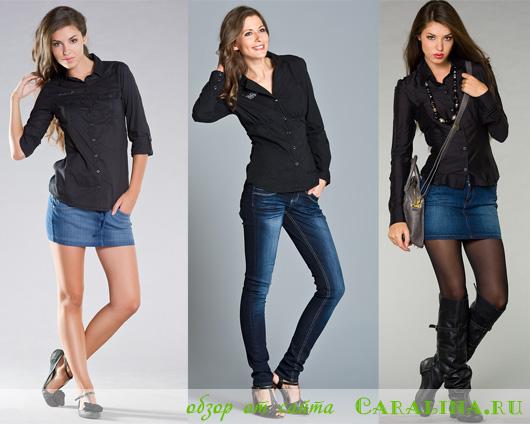 С чем носить черную рубашку: 15 лучших сочетаний