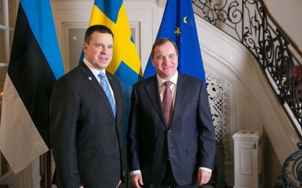 Премьеры Швеции иЭстонии согласны, что нужно укреплять кибербезопасность