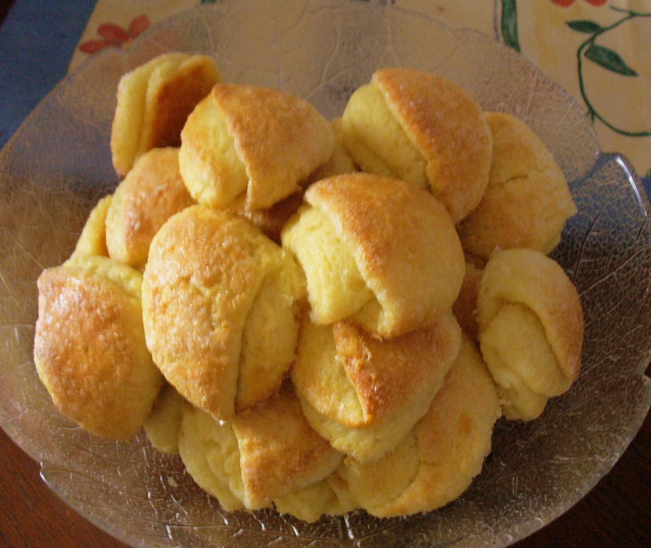 """Творожное печенье """"Поцелуйчики""""(Сладкое). Фото-рецепт. Olga Dell"""