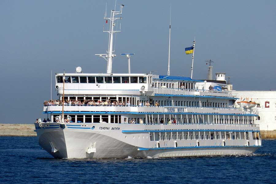 Генерал Ватутин отказался служить фашистской Украине или корабль беглец на пути в Россию