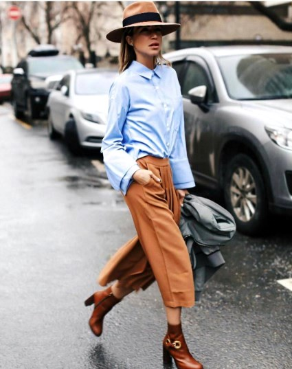 Модные образы со стильными шляпами: шикарные варианты для вашего гардероба