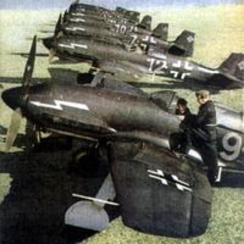 Оружие пропаганды. Истребитель Heinkel He 100