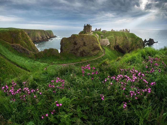 Живописная природа Шотландии.