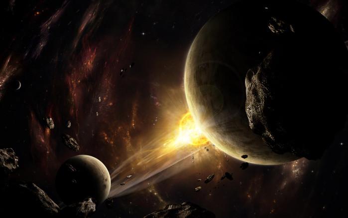К Земле приближается неестественный астероид