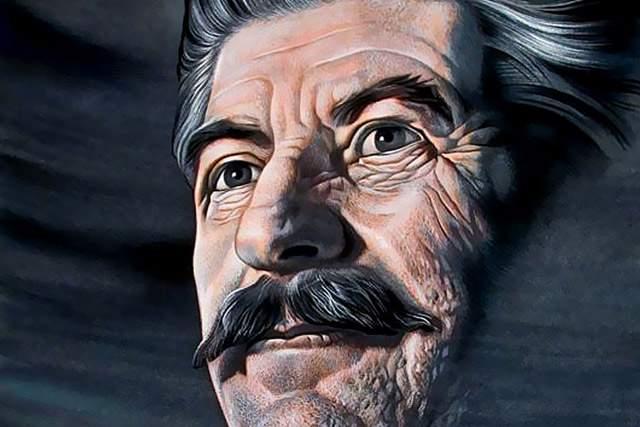 Ко дню рождения Сталина: он …