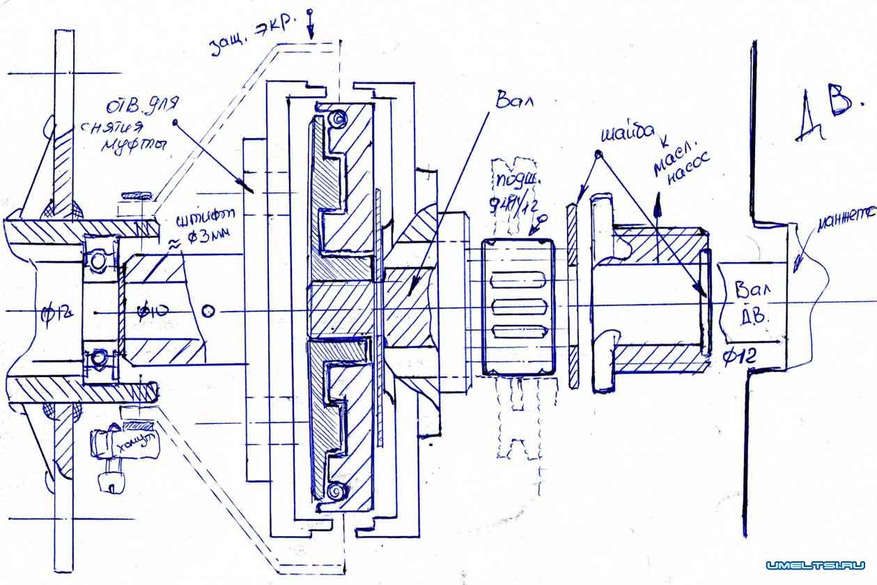 лодочный мотор своими руками из бензопилы видео