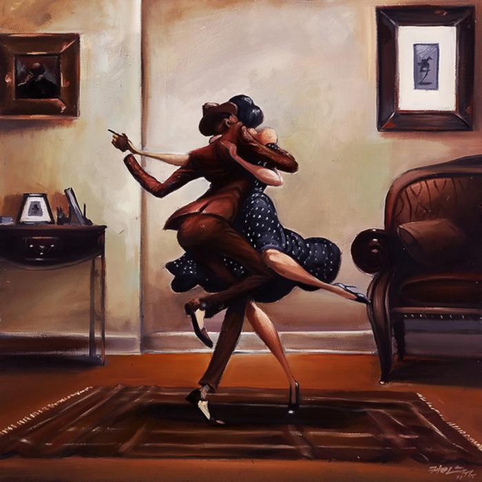 Зажигательный танец. Автор: Frank Morrison.