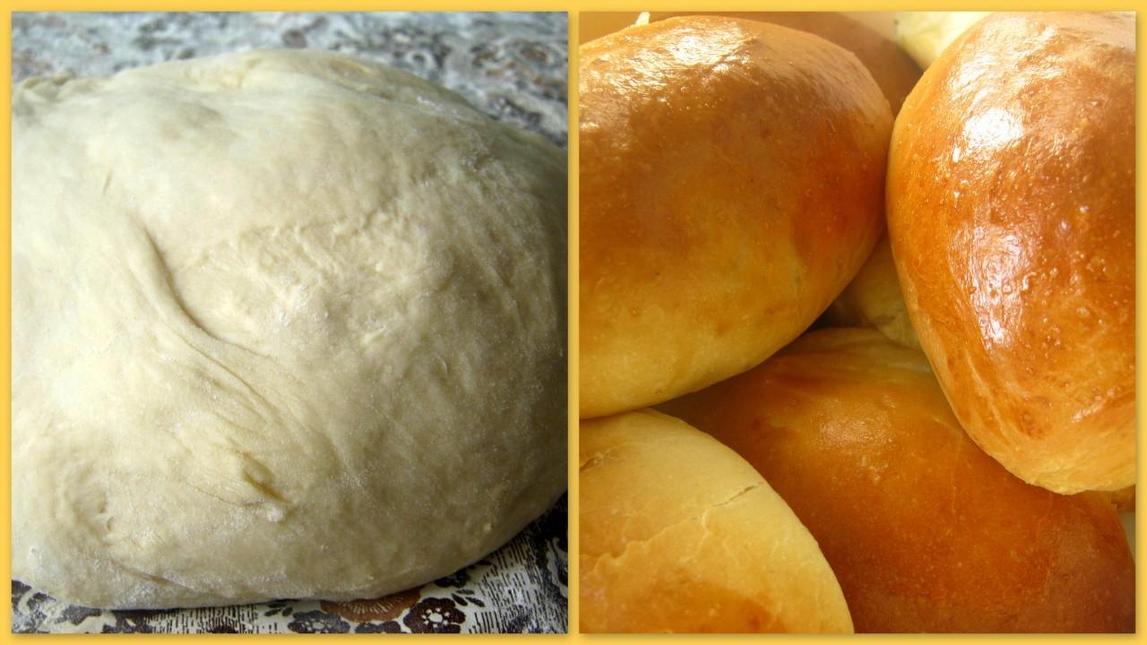 Тесто для хлеба в домашних условиях пошаговый рецепт с фото