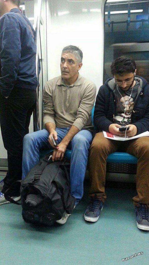 Двойники в метро