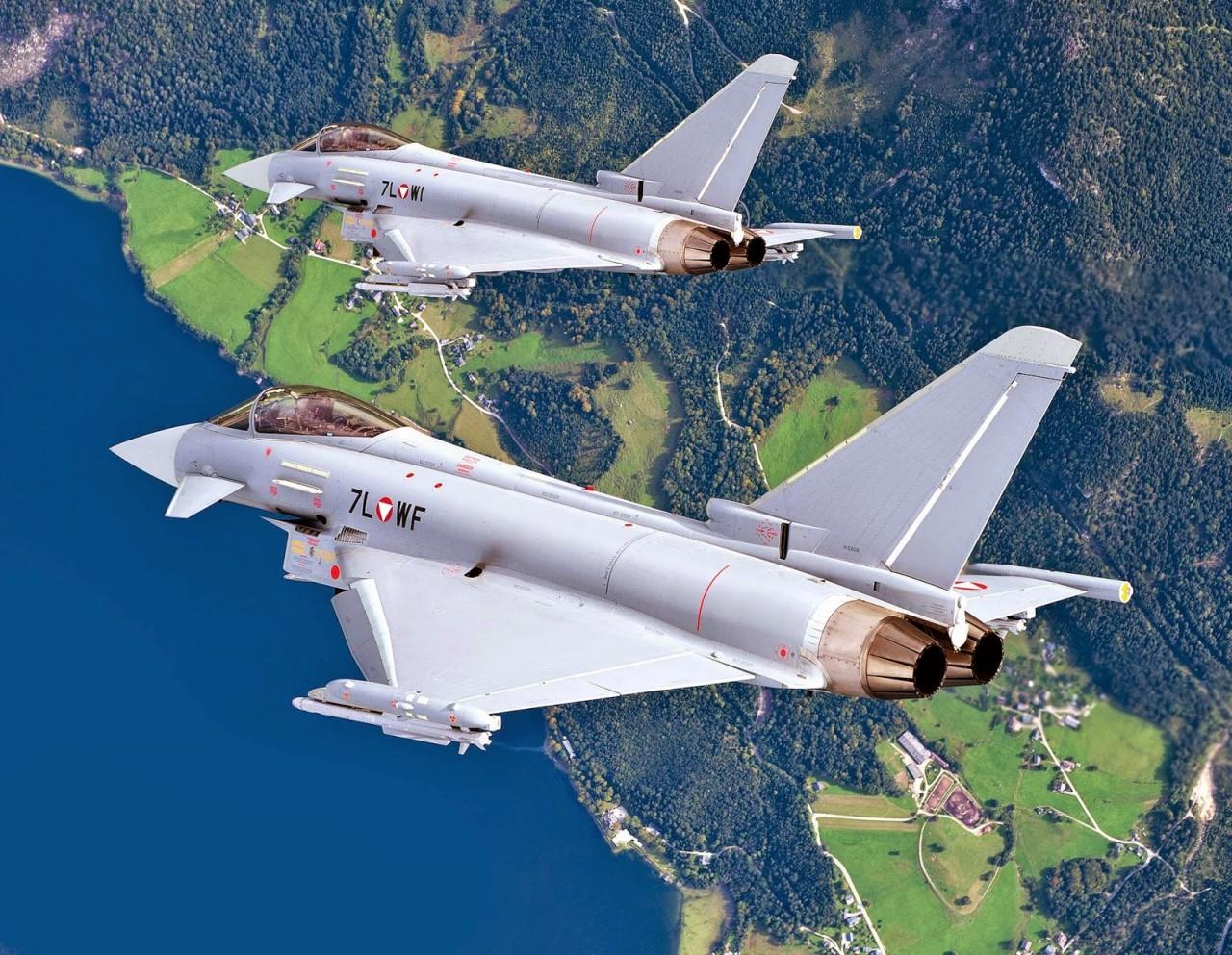 Airbus препирается с министерством обороны Австрии по поводу австрийских истребителей Eurofighter