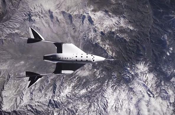 Появилось видео суборбитального полета Virgin Galactic