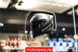 Aprilia на салоне EICMA-2014: интеграция с супершлемом Skully и дорога в MotoGP