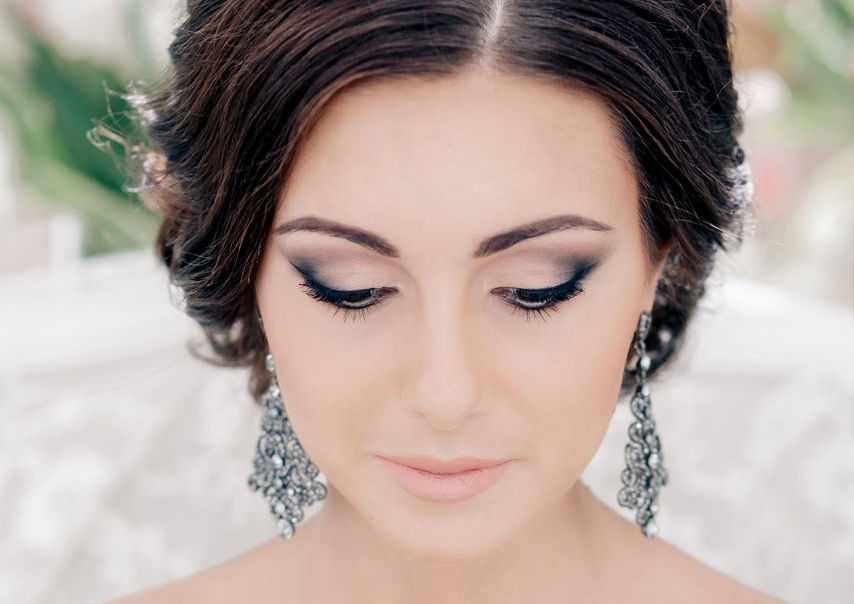 Фото макияж на свадьбу для брюнеток с карими глазами