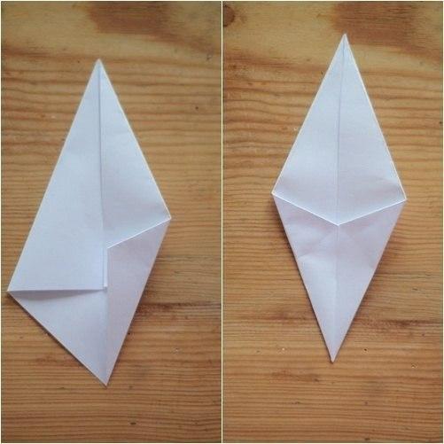 Как сделать звезду из бумаги. Мастер класс.