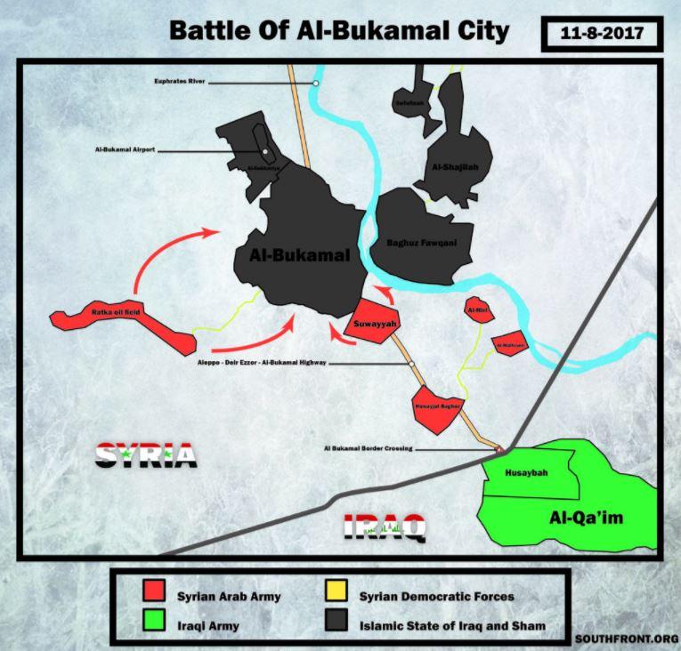 Падение Абу-Кемаля
