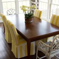 чехлы для стульев на кухню фото 16
