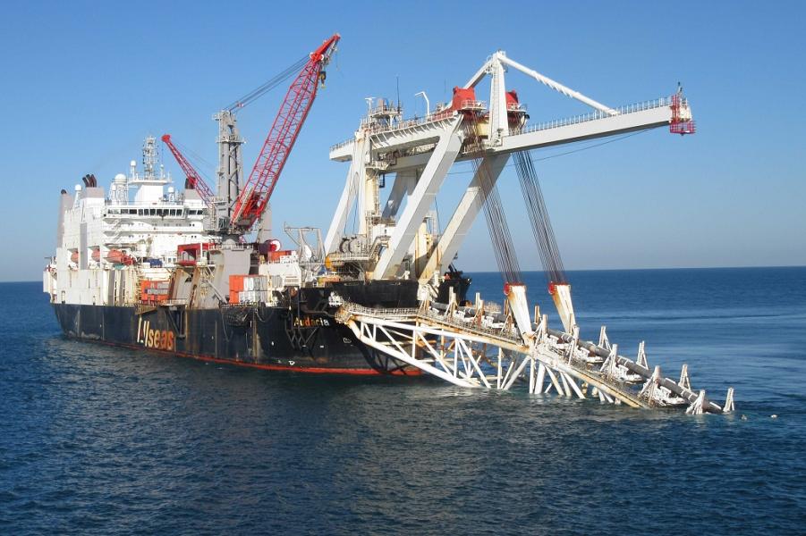 """""""Газпром"""" строит Турецкий поток. В Украине  уверены, что он не заработает"""