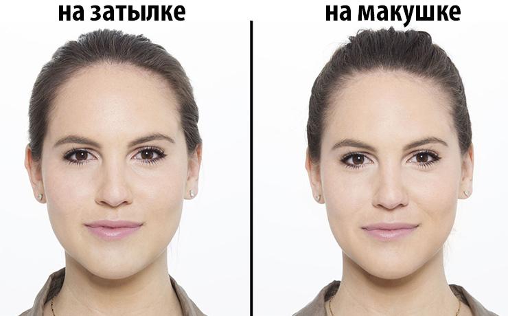 сделать лицо стройнее фото