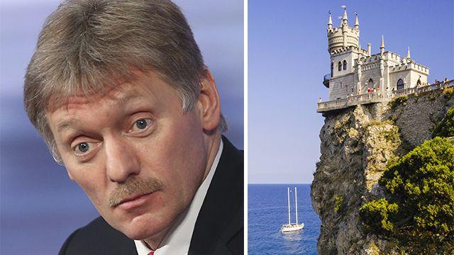 Песков: Посещение Путиным Крыма не касается Украины