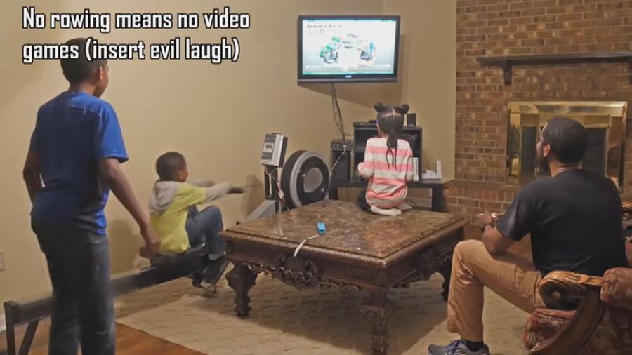 Ну и гаджеты: социально активный робот, механическая стиральная машина и видеоприставка из тренажёра