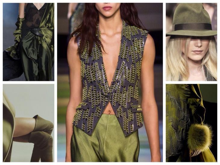 В «модной обойме»: гардероб цвета хаки